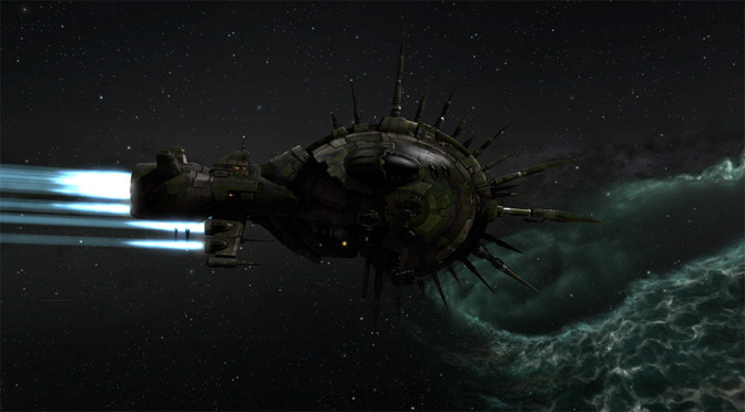Realistic Space Combat-does it tell a good story?