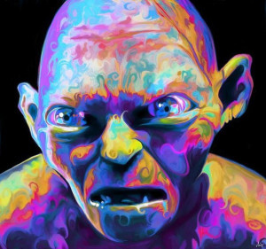 Public domain presumed by Freeyork website, depicts Gollum.