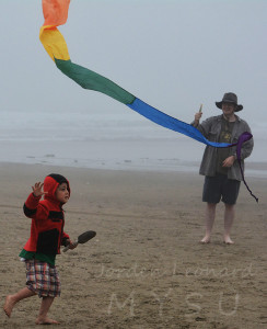 Catch the dragon kite's tail