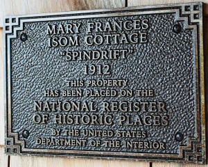 Spindrift plaque