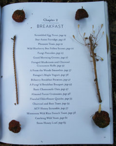 Censorship: Breakfast from Tales from a Forager's Kitchen, by Johnna Holmgren